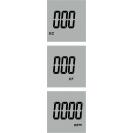 Водонепроницаемый портативный кондуктометр, солемер EC-1385