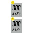 Портативный влагозащищенный кондуктометр, термометр EC-1387
