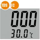 Водонепроницаемый pH-метр, солемер, термометр TDS-9983