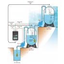 Контроллер уровня с управляемой розеткой HL-233T