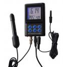 Настенный монитор pH и температуры PH-025a