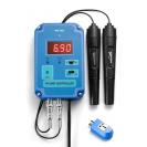 Настенный рН/ORP контроллер с управляемым блоком розетки PH-303