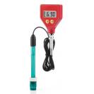 Экономичный pH-метр с выносным пластиковым электродом PH-98105