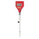 Экономичный pH-метр для полутвердых сред PH-98107